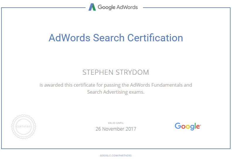 adwords-search-advertising-exam-certification-2017
